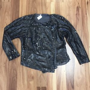 Free People NWT sequin jacket